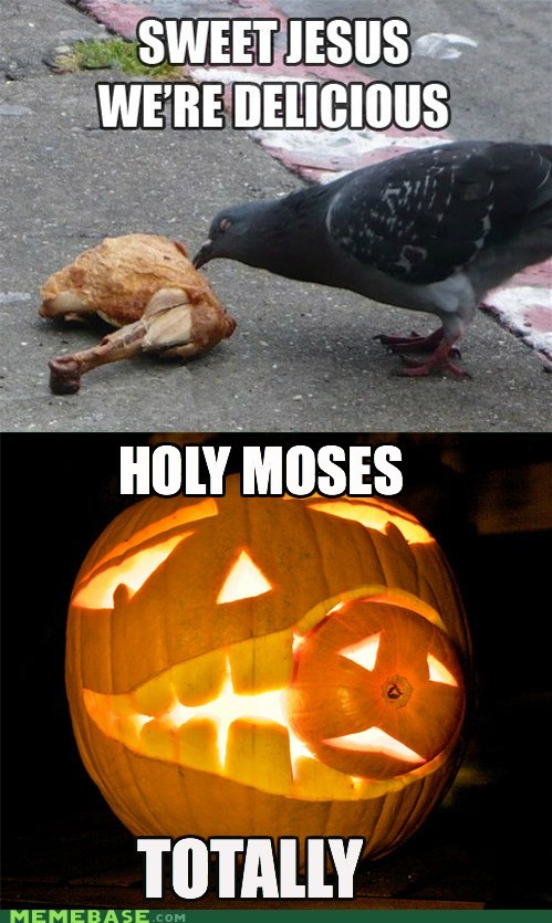 cannibalism holy moses pumpkins totally