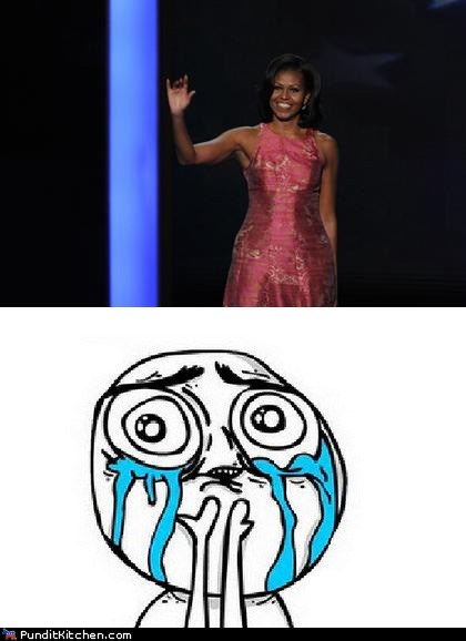 cry dnc Michelle Obama speech - 6564402432