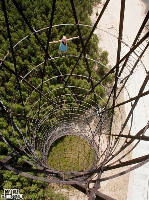 climbing heights stunt vertigo - 6564403712