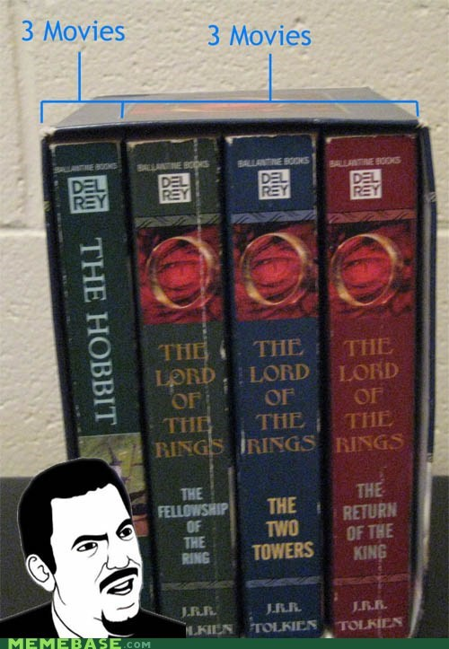 books fantasy Lord of the Rings movies seriously The Hobbit - 6564465920
