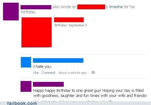 birthday birthday wishes facebook birthday i hate you - 6564695552