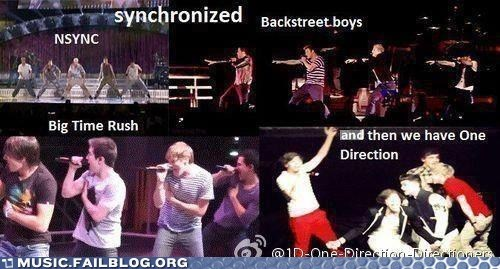 backstreet boys big time rush nsync one direction - 6564841984