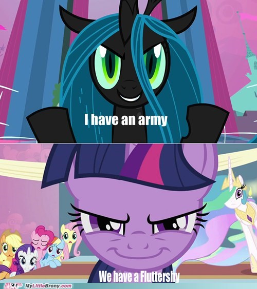 chrysalis fluttershy twilight sparkle We win - 6564924160