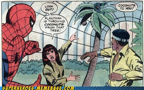 coconuts lucas cage plantman Spider-Man - 6565166080