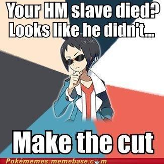 cheren,cut,HM slave