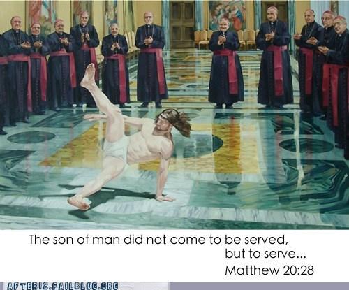 breakdancing jesus jesus The Son of Man - 6565237248
