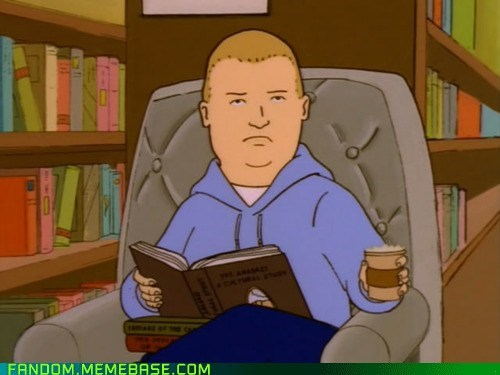 bobby hill my face when reactions