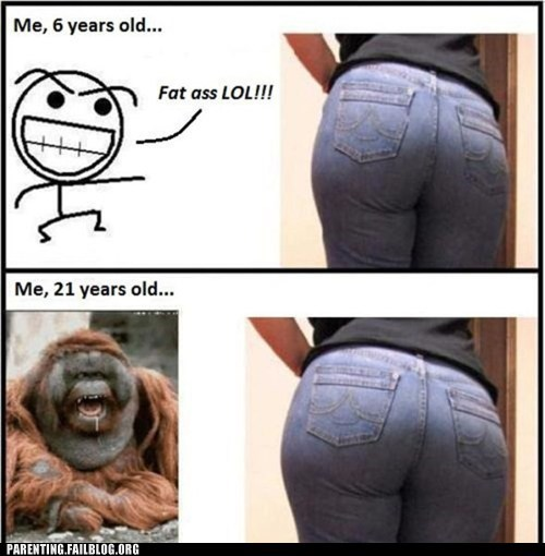 Before And After,butts,Rage Comics