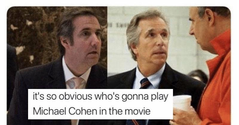 trump michael cohen memes