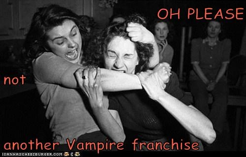 bite catfight fight vampires women