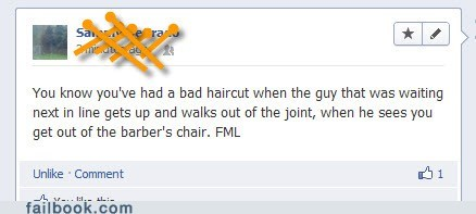 bad hair day,bad haircut,barber,barbershop,hair salon,haircut