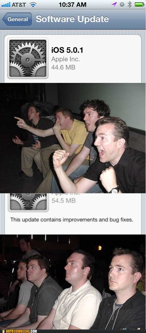 bug fixes,oh joy,software update