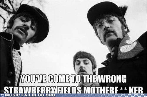 strawberry fields,the Beatles