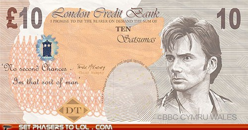 bbc david tennat doctor who London money props the doctor - 6565632000