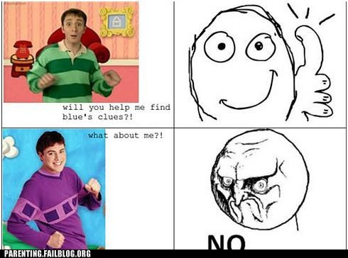 blues clues new guy nostalgia steve