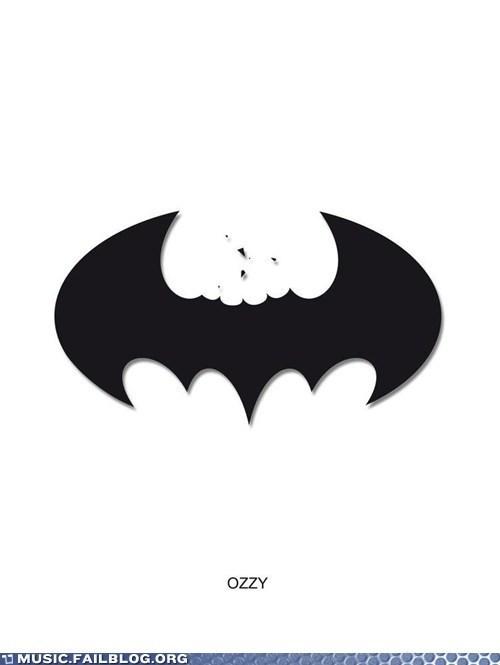batman batman logo Ozzy Osbourne - 6565673472