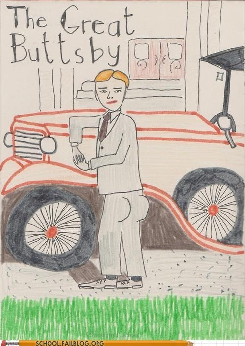 bargain books buttsby gatsby the great buttsby - 6565676544