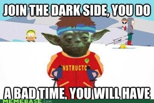 a bad time,yoda