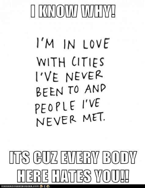 cities forever alone hate you - 6565794048
