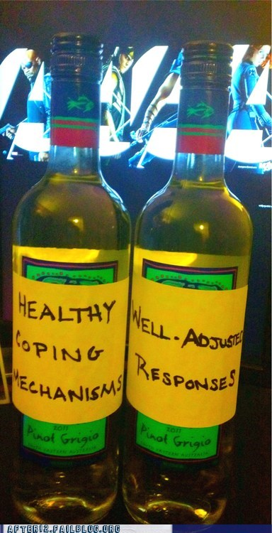 alcohol coping mechanism pinot grigio white wine wine - 6565794560