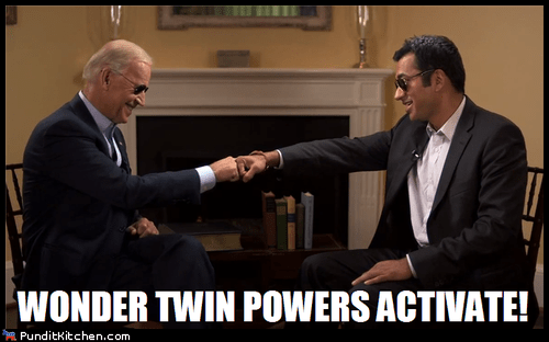 activate,dnc,fist bump,joe biden,kal penn,wonder twins