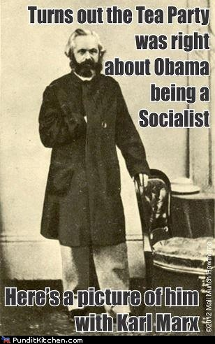 barack obama Clint Eastwood empty chair karl marx rnc socialism tea party - 6565827584