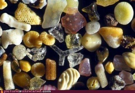 beach magnified sand - 6565865216