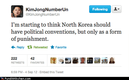 conventions kim jong-un punishment torture tweet