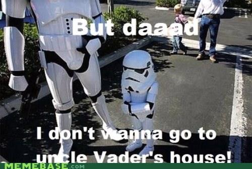 darth vader son star wars stormtrooper - 6565923840