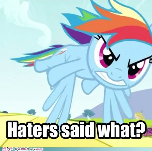 get over here haters rainbow fury - 6566023424