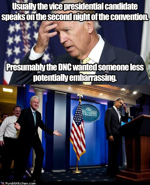 barack obama bill clinton dnc embarrassing joe biden - 6566314240