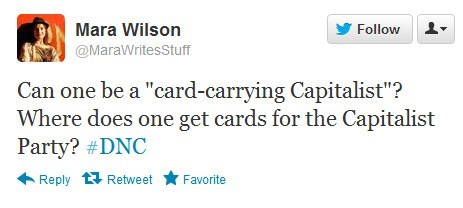 capitalist,card carrying,mara wilson,tweet