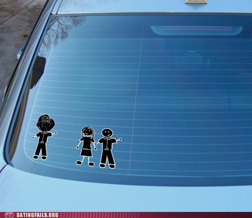 bumper stickers forever alone married friends - 6566460928