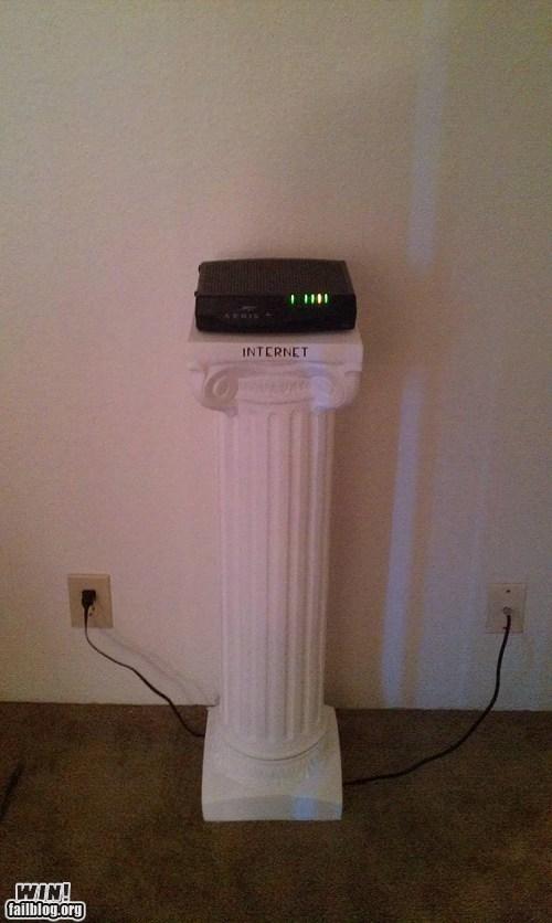 best of week Hall of Fame internet pedestal router - 6566534912