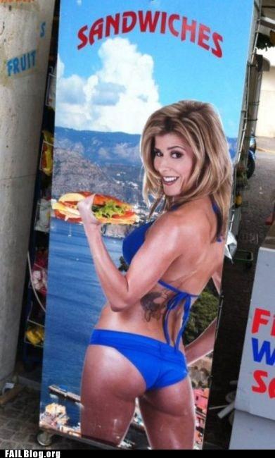 advertisement creepy photoshop sandwich - 6566540800