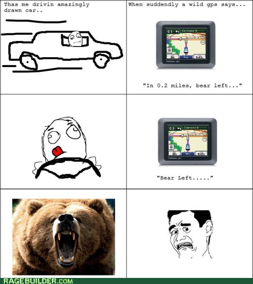 gps grizzly bear bear - 6566780160