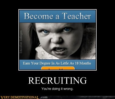 doing it wrong recruiting wtf - 6567215104
