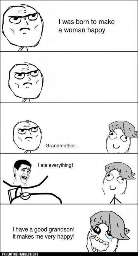 grandma,Rage Comics