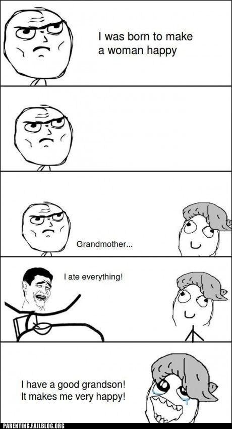 grandma Rage Comics - 6567469312