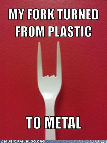 fork heavy metal rock fist - 6567471360