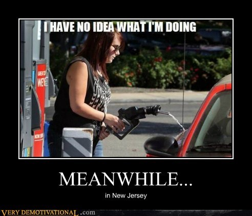 car,gasoline,idiots,New Jersey,wtf