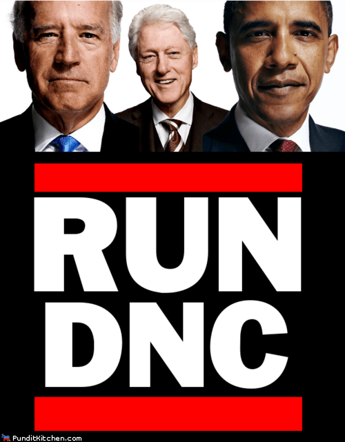 barack obama bill clinton dnc joe biden Run DMC tricky - 6567556608