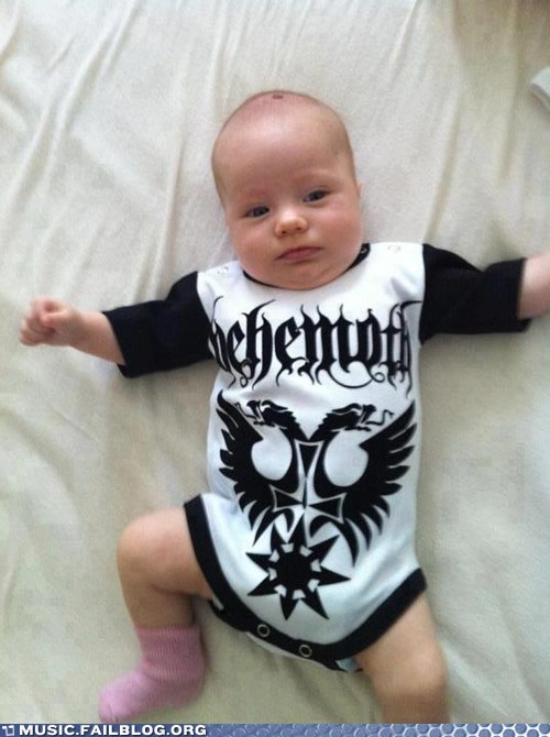 baby behemoth onesie - 6567681792