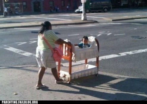 crib,stroller