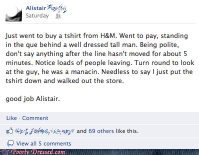 facebook,hm,H&M,Mannequins,stupid