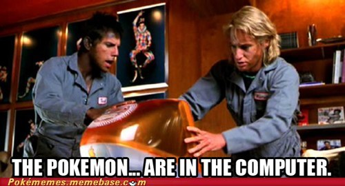 bills-pc in the computer Movie Pokémon zoolander - 6567927296