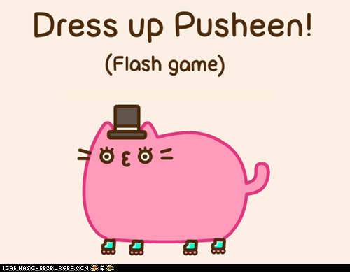 cute dress up games interactive pusheen - 6567942656