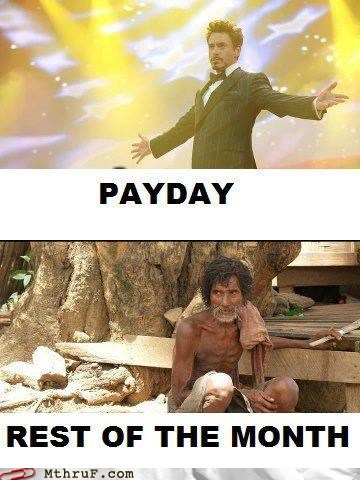 paycheck payday ps3 salary