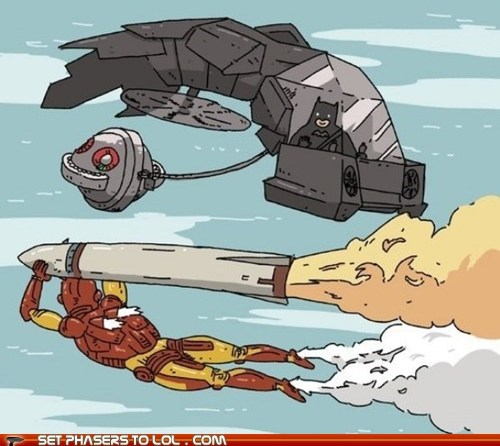 avengers batman bombs climax flying iron man the dark knight rises