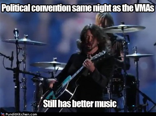 dnc,foo fighters,mtv,Music,vmas